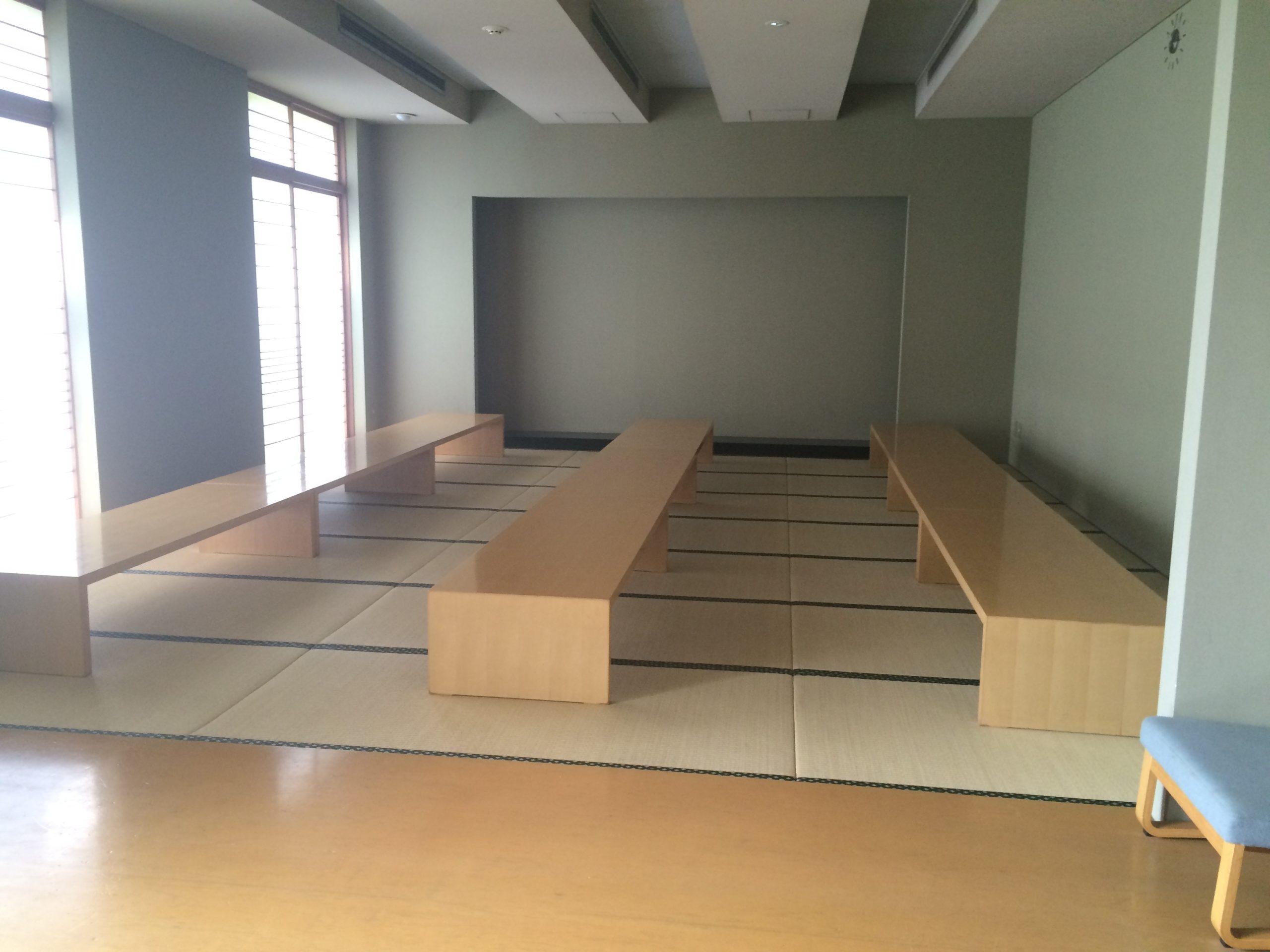 県央みずほ斎場の控室