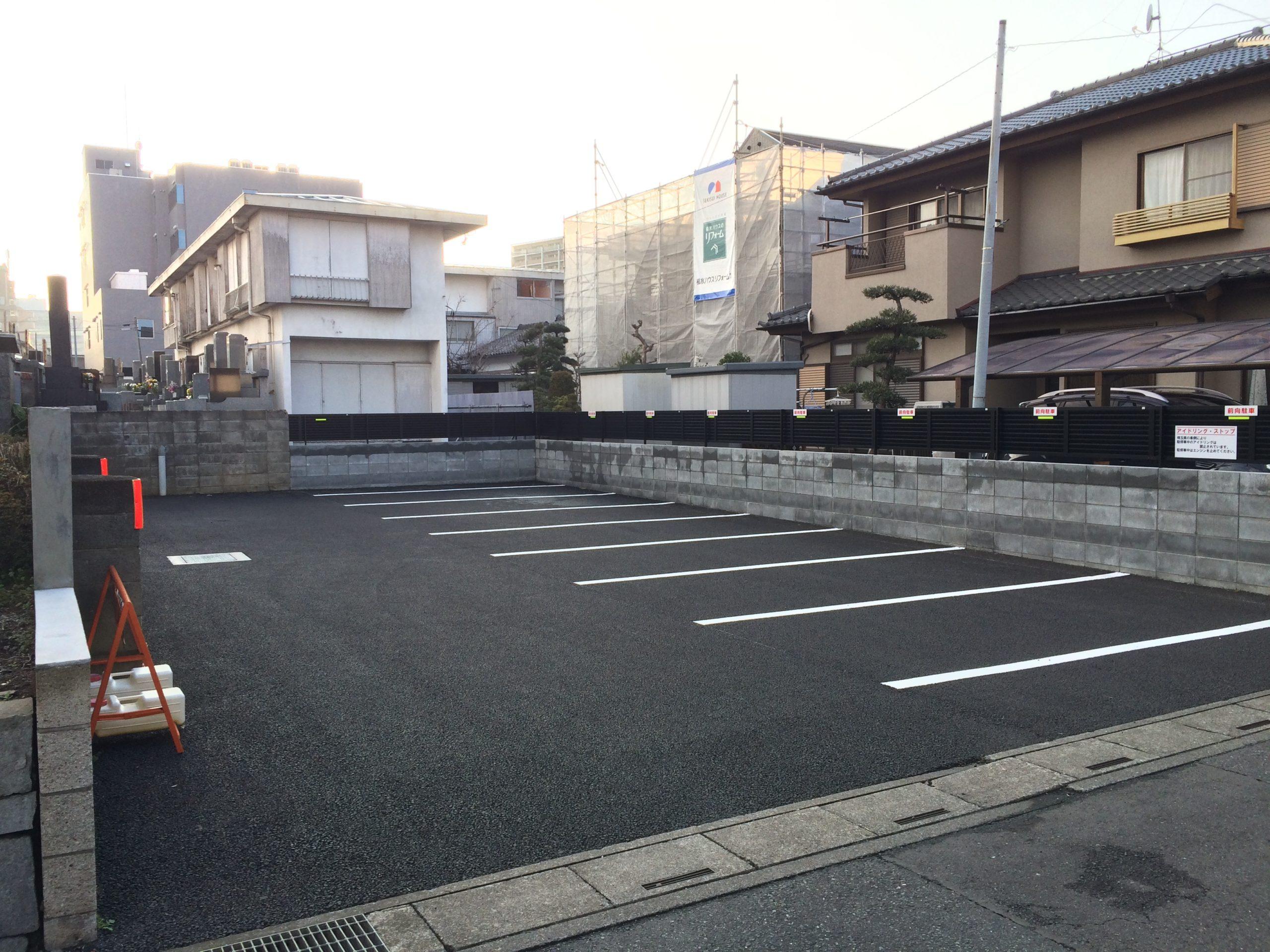 ひかり会館の駐車場2