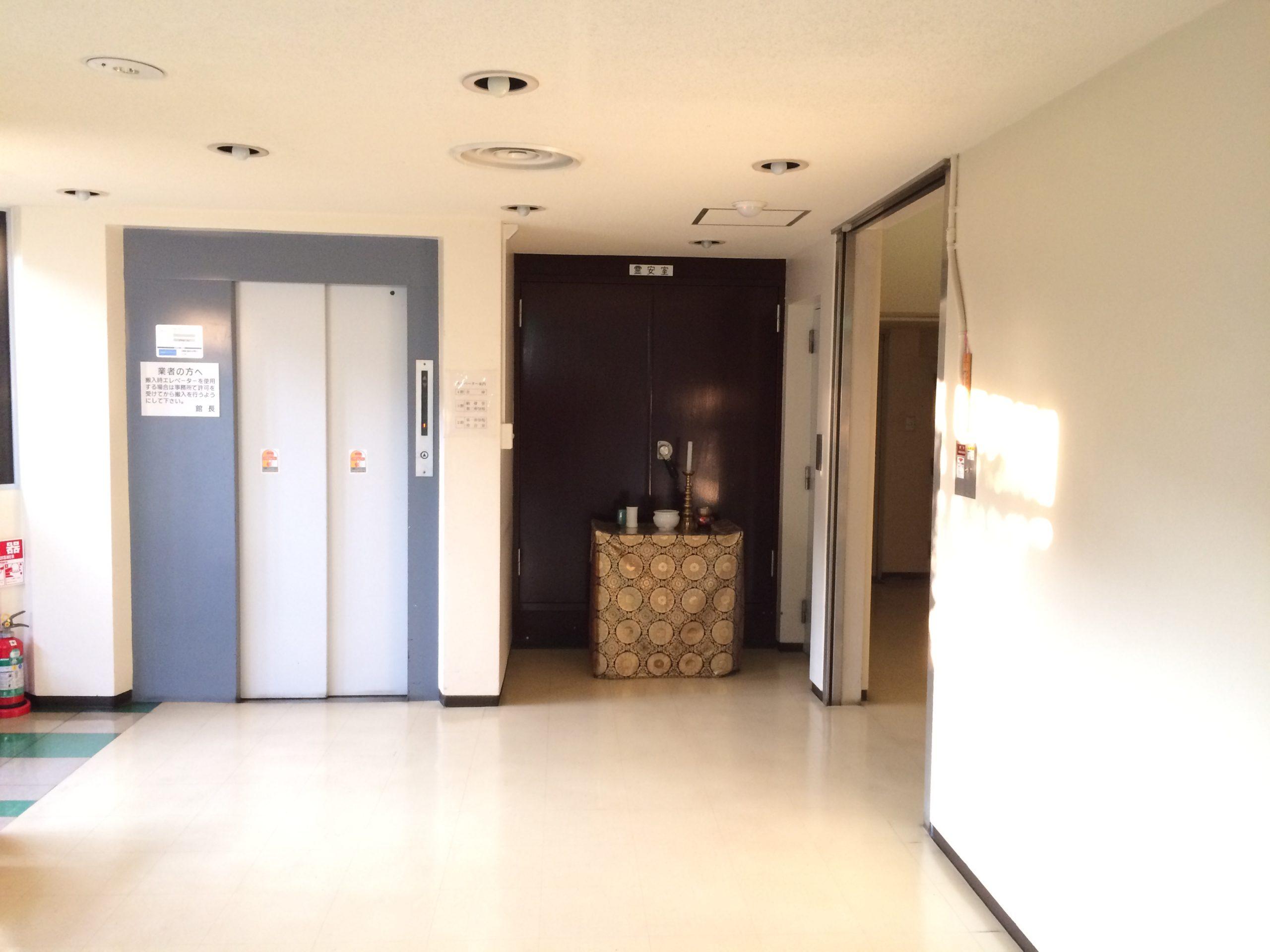 ひかり会館の霊安室