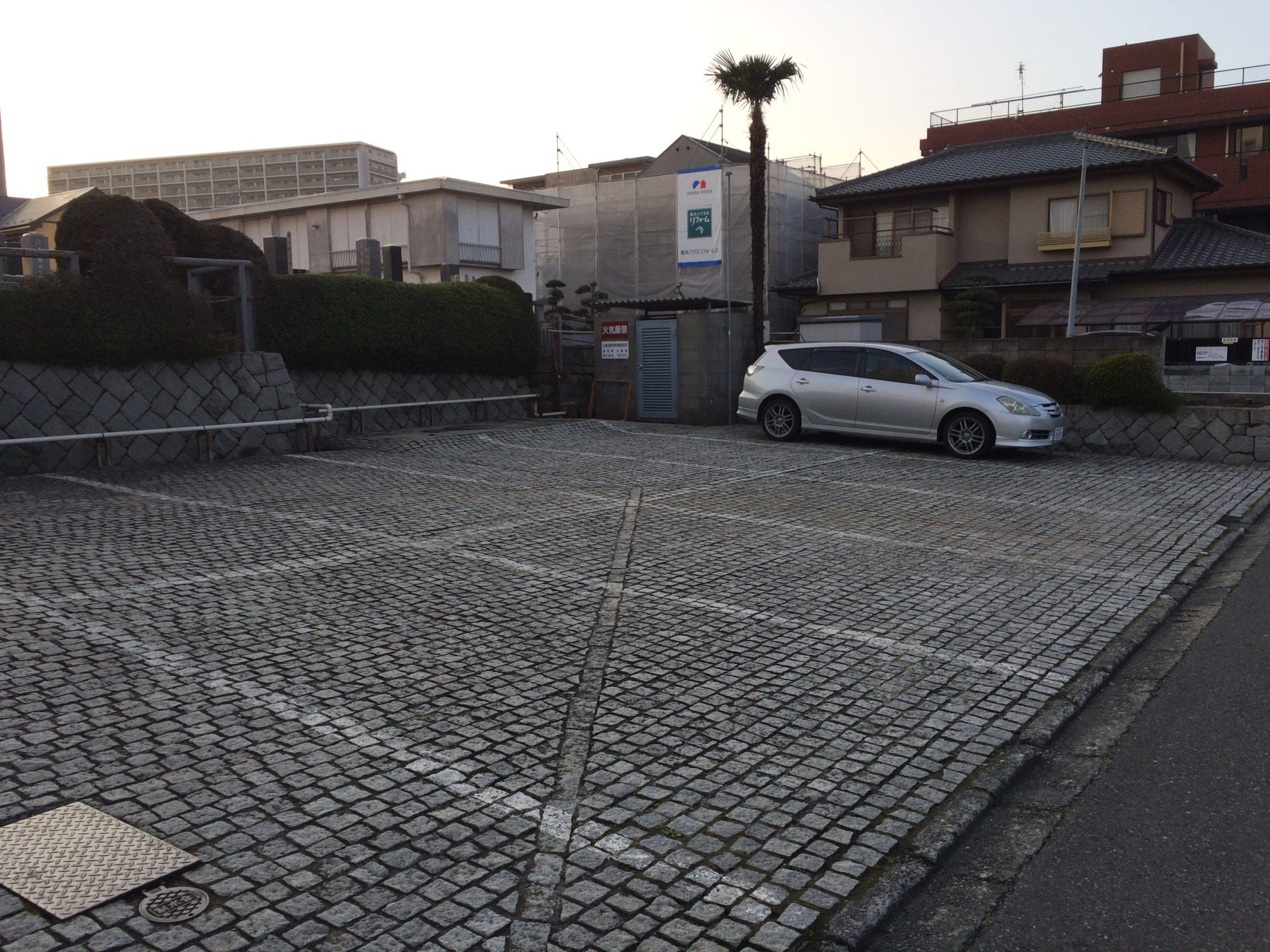 ひかり会館の駐車場1